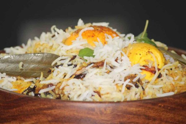 Hyderabadi Egg Biryani Recipe